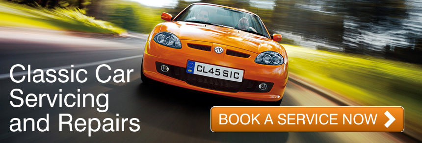 Classic car servicing at Freeland Automotive Ltd, Melksham. Click here to book now