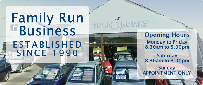 Family Run Business ESTABLISHED SINCE 1990. Opening hours: Monday to Friday, 8.30am to 5.00pm. Saturday, 8.30am to 3.00pm. Sunday, APPOINTMENT ONLY