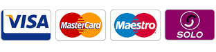 Major debit and credit cards accepted