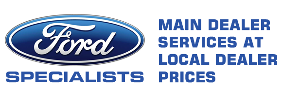 Ford SPECIALISTS. MAIN DEALER SERVICES AT LOCAL DEALER PRICES