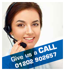 Give us a call on 01202 902657