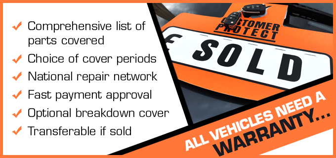 Little Car Company Poole. All VEHICLES NEED A WARRANTY. Comprehensive list of part covered. Choice of cover periods. National repair network. Fast payment aproval. Optional breakdown cover. Transferable if sold.