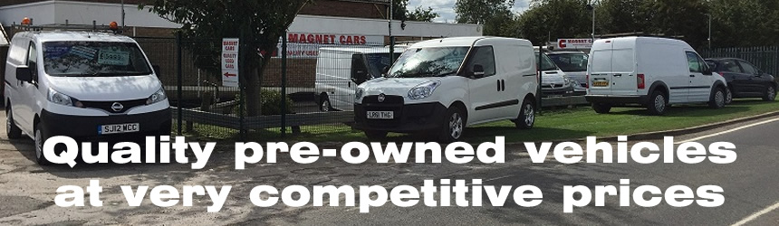 Magnet Cars, Peterborough, Cambridgeshire. Quality pre-owned vehicles at very competitive prices.