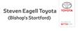 Logo of Steven Eagell Toyota Bishop's Stortford