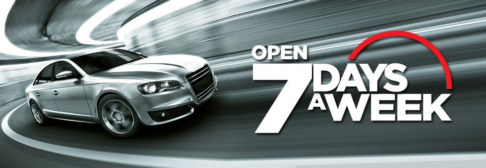 Open 7 days a week  The Upton Garage, Poole