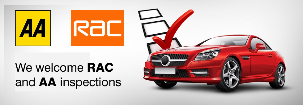 At The Upton Garage, Poole we welcome AA and RAC inspections