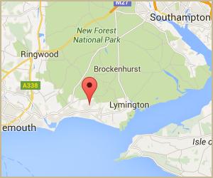 Google Map Location Map for Arnewood Motor Company