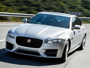 New Jaguar XF review