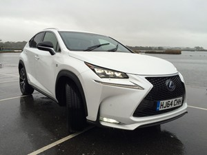 New Lexus NX300h review