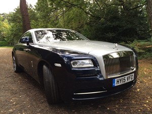 New Rolls Royce Wraith review