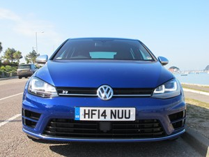 New Volkswagen Golf R review