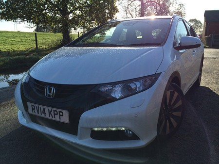 New Honda Civic Tourer review