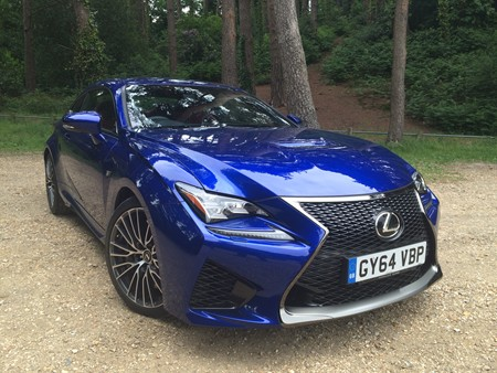 New Lexus RCF review