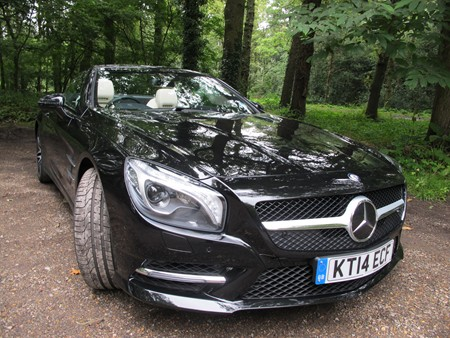 New Mercedes SL400 review
