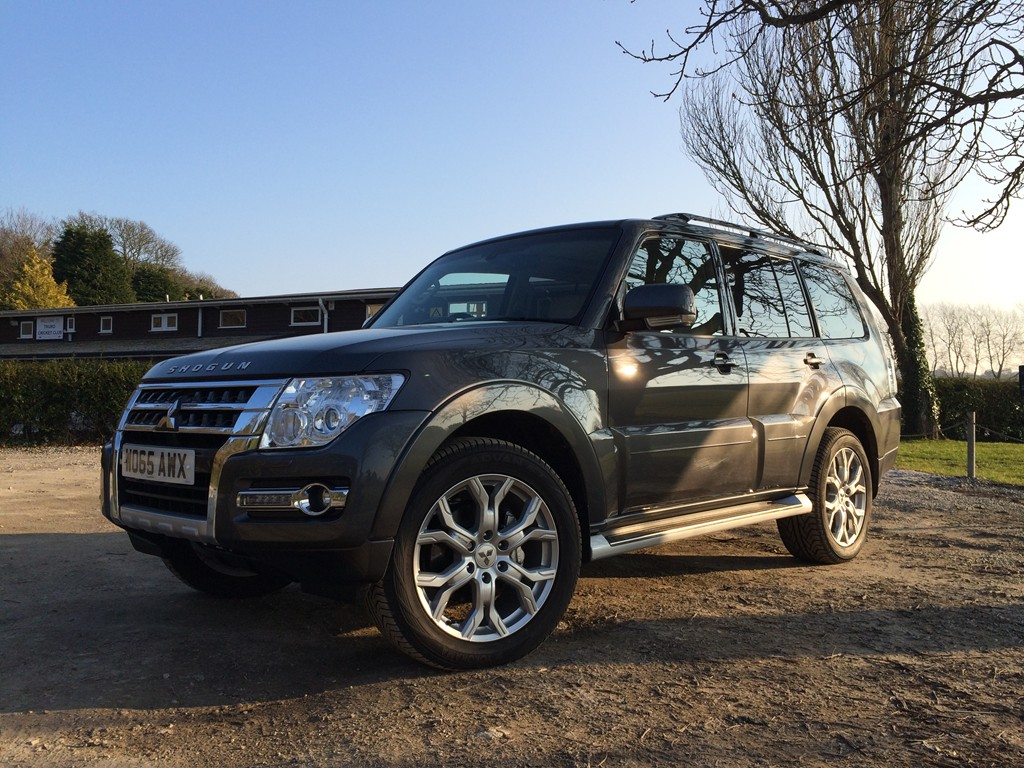 New Mitsubishi  Shogun review