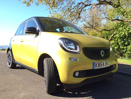 New Smart Forfour review