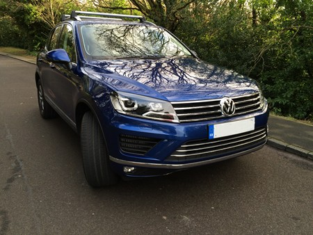 New Volkswagen Touareg review